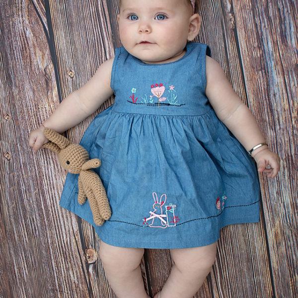שמלת ג'ינס ארנב