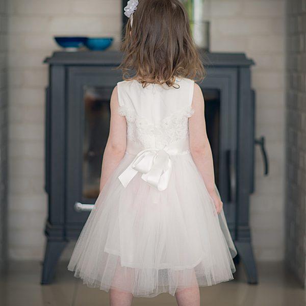 שמלת שושבינה אמיליה לבנה-2570
