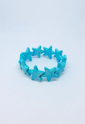 צמיד כוכבים טורקיז-0