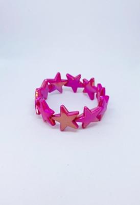 צמיד כוכבים פוקסיה-0