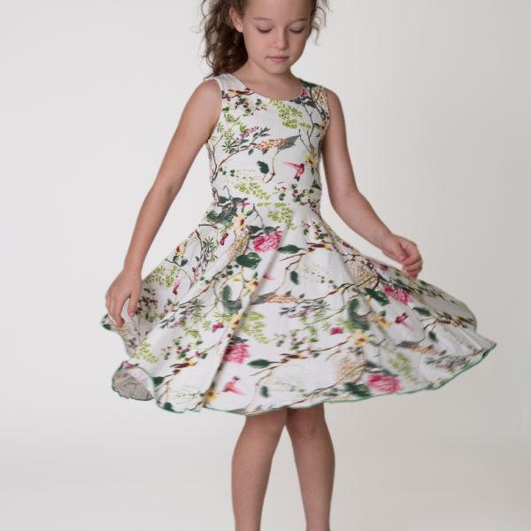 שמלת גאיה לבנה