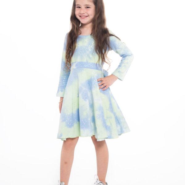 שמלת שחר כחולה