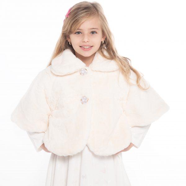 שמלת יובל פרפרים לבנים