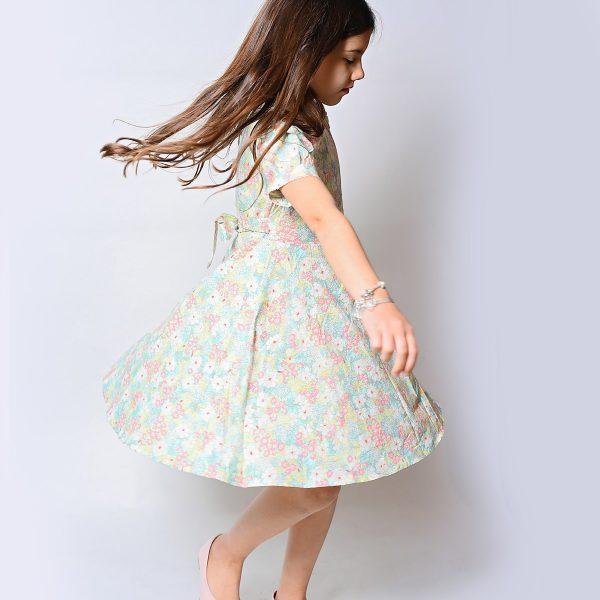שמלת אלכסה פרחונית