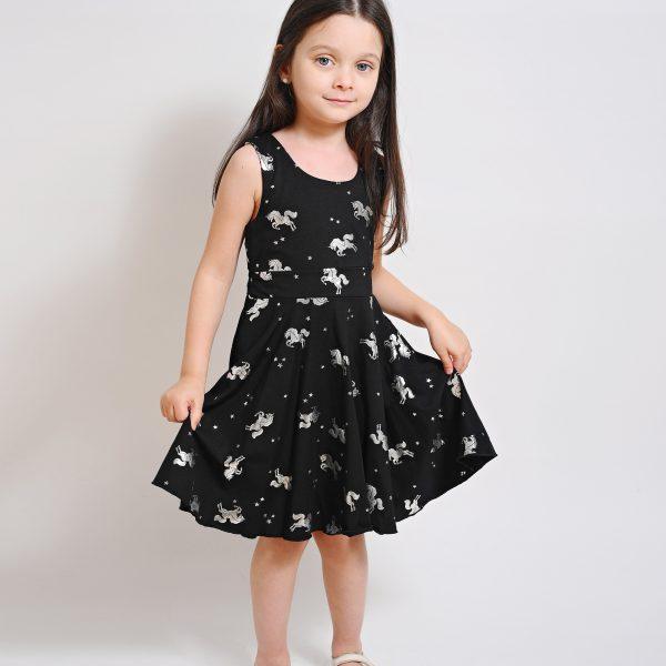 שמלת חד קרן כסוף
