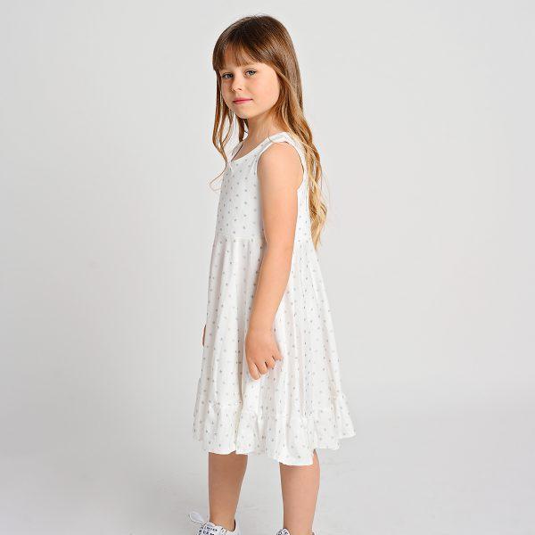 שמלת איימי כוכבים לבנה