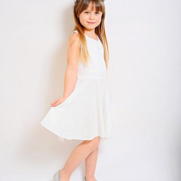 שמלת נועם לבנה
