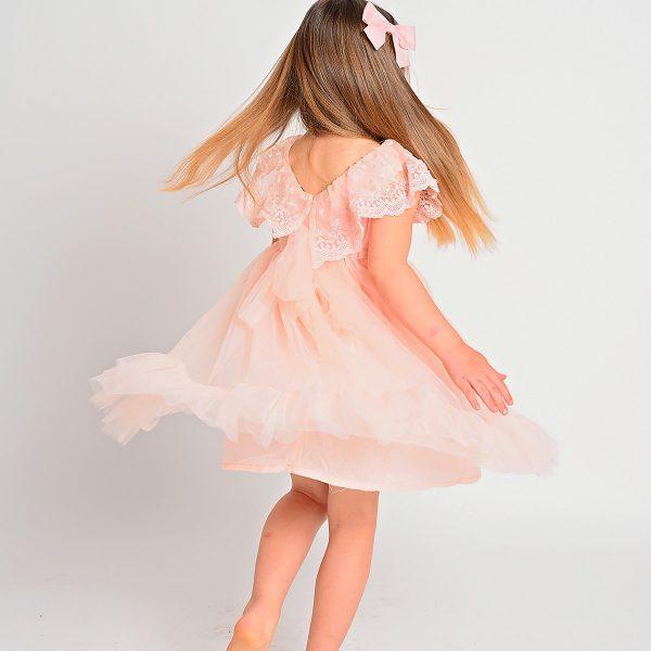 שמלת שושבינה סופי אפרסק