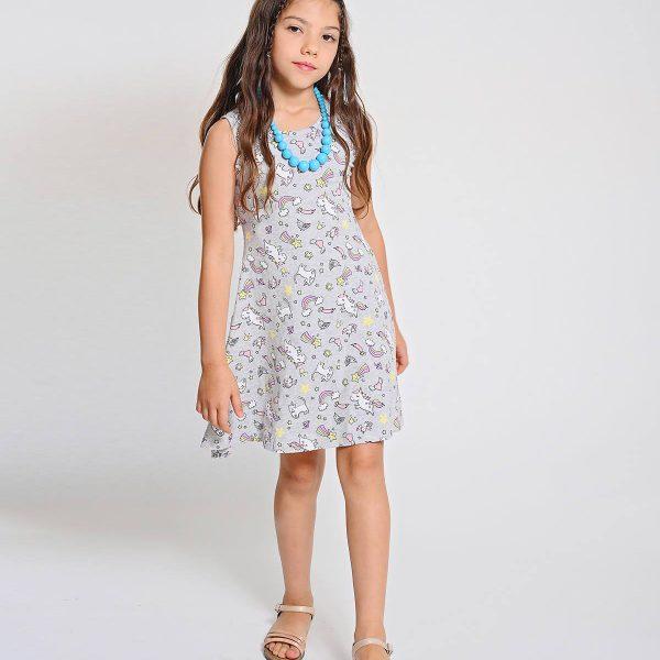 שמלת חד קרן מסתובבת